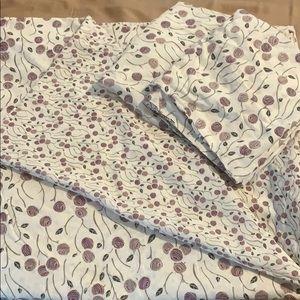 Duvet and pillow case set, king size